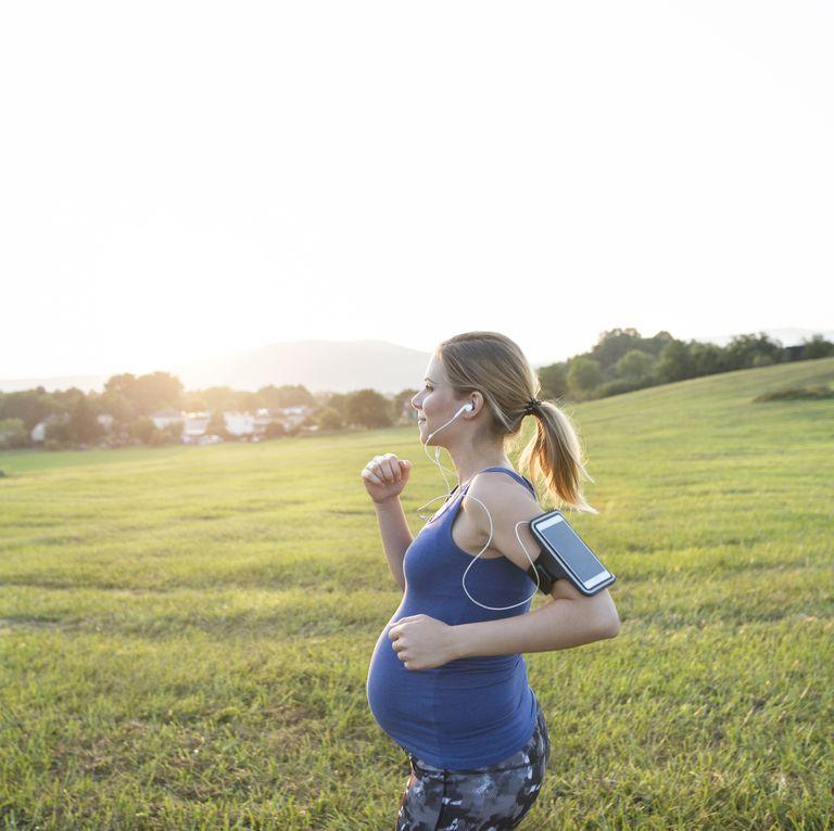 Hamile-iken-koşu